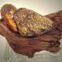 Bird on Driftwood -1